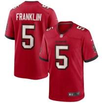 Men's John Franklin Red Player Limited Team Jersey