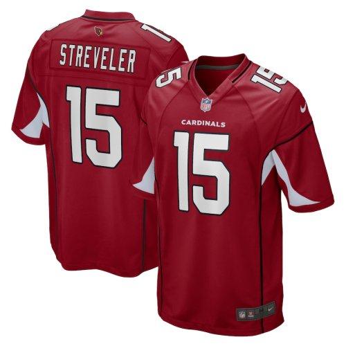Men's Chris Streveler Cardinal Player Limited Team Jersey
