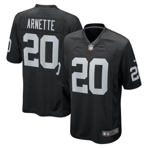 Men's Damon Arnette Black 2020 Draft First Round Pick Player Limited Team Jersey