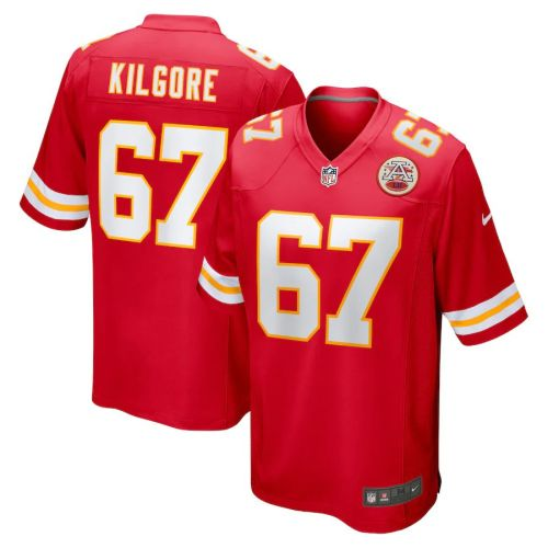 Men's Daniel Kilgore Red Player Limited Team Jersey