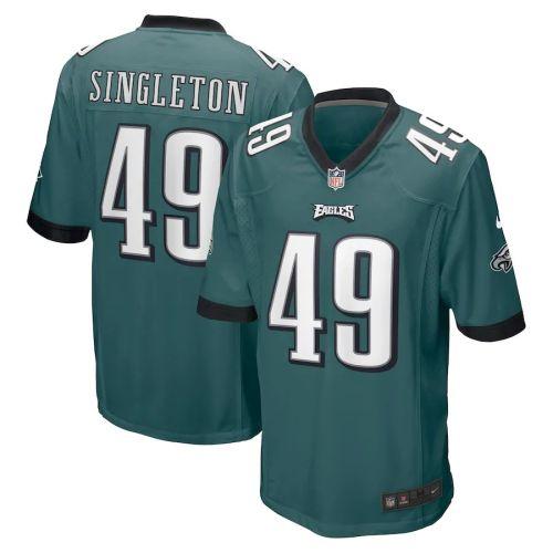 Men's Alex Singleton Midnight Green Player Limited Team Jersey