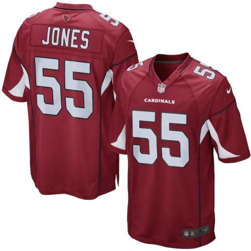 Men's Chandler Jones Cardinal Player Limited Team Jersey