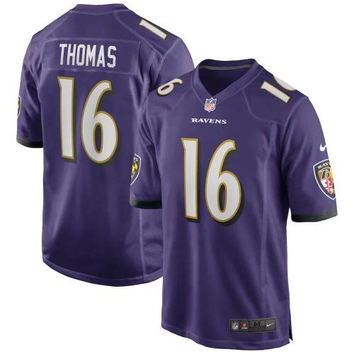 Men's De'Anthony Thomas Purple Player Limited Team Jersey
