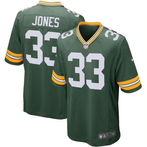 Men's Aaron Jones Green Player Limited Team Jersey