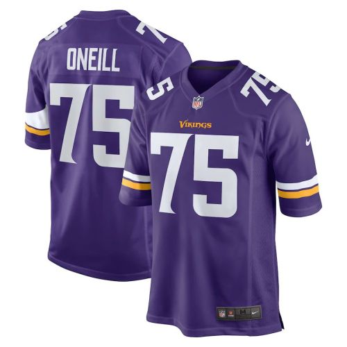Men's Brian O'Neill Purple Player Limited Team Jersey
