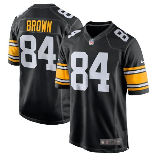 Men's Antonio Brown Black Alternate Player Limited Team Jersey