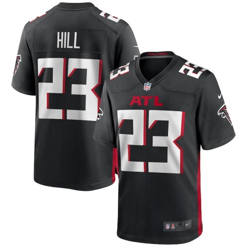 Men's Brian Hill Black Player Limited Team Jersey