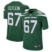 Men's Pat Elflein Gotham Green Player Limited Team Jersey