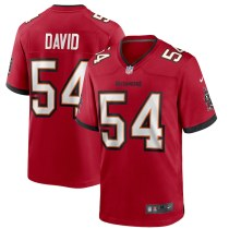 Men's Lavonte David Red Player Limited Team Jersey