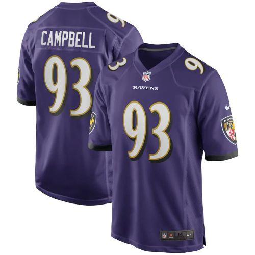 Men's Calais Campbell Purple Player Limited Team Jersey