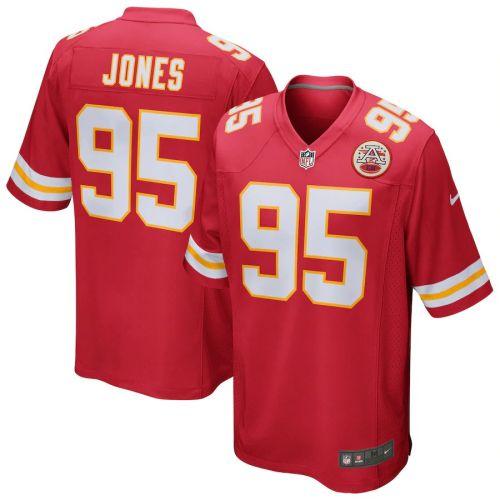Men's Chris Jones Red Player Limited Team Jersey