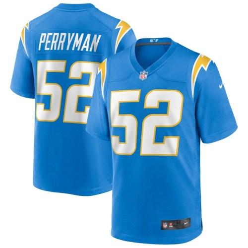 Men's Denzel Perryman Powder Blue Player Limited Team Jersey