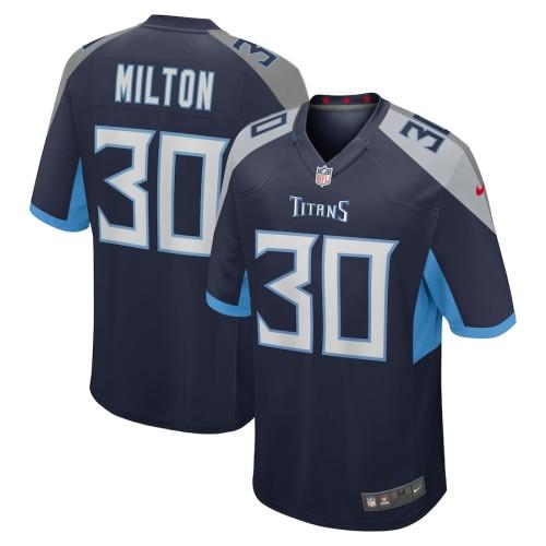 Men's Chris Milton Navy Player Limited Team Jersey