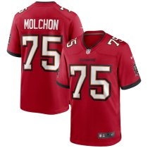 Men's John Molchon Red Player Limited Team Jersey