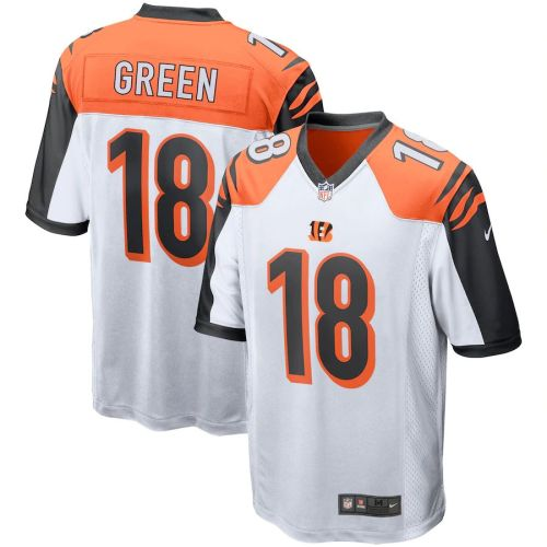 Men's A.J. Green White Player Limited Team Jersey