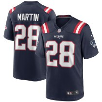 Men's Curtis Martin Navy Retired Player Limited Team Jersey