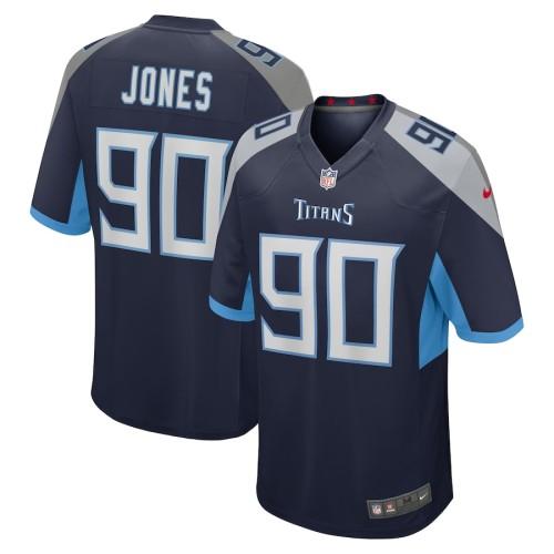 Men's DaQuan Jones Navy Player Limited Team Jersey