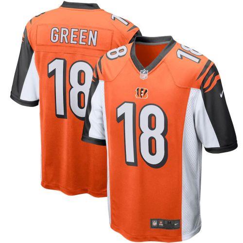 Men's A.J. Green Orange Player Limited Team Jersey