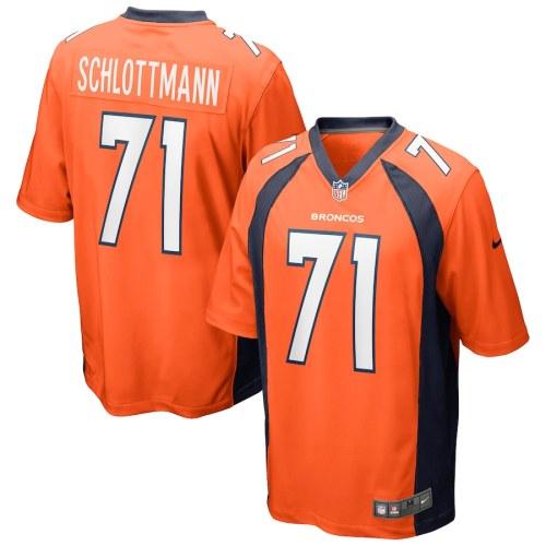 Men's Austin Schlottmann Orange Player Limited Team Jersey