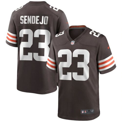 Men's Andrew Sendejo Brown Player Limited Team Jersey