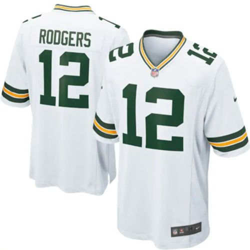 Men's Aaron Rodgers White Player Limited Team Jersey