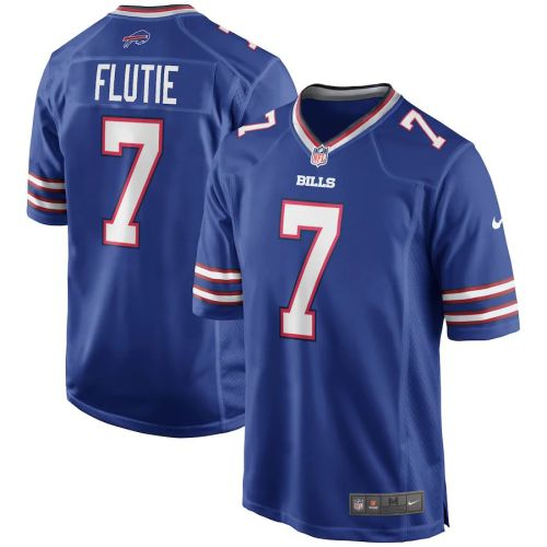 Men's Doug Flutie Royal Retired Player Limited Team Jersey