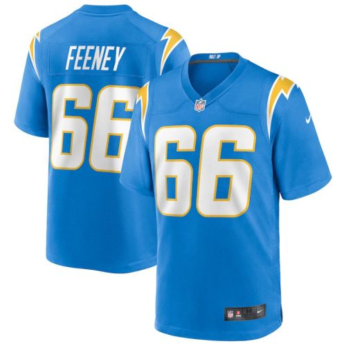 Men's Dan Feeney Powder Blue Player Limited Team Jersey