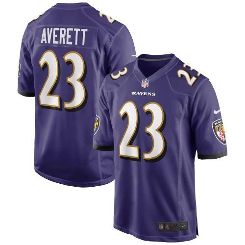 Men's Anthony Averett Purple Player Limited Team Jersey