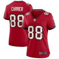 Women's Mark Carrier Red Retired Player Limited Team Jersey