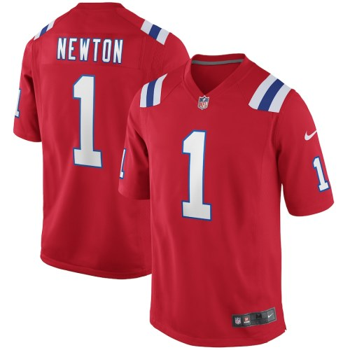 Men's Cam Newton Red Alternate Player Limited Team Jersey