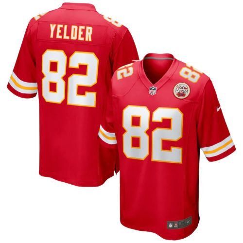 Men's Deon Yelder Red Player Limited Team Jersey