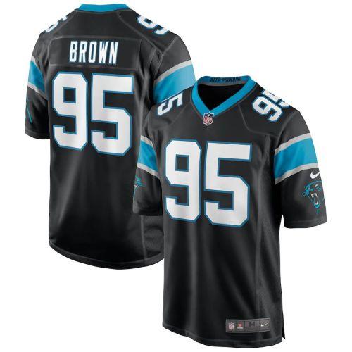 Men's Derrick Brown Black 2020 Draft First Round Pick Player Limited Team Jersey