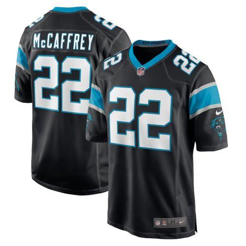 Men's Christian McCaffrey Black Player Limited Team Jersey