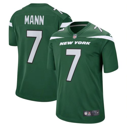 Men's Braden Mann Gotham Green Player Limited Team Jersey