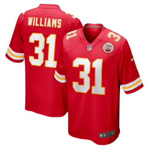 Men's Darrel Williams Red Player Limited Team Jersey