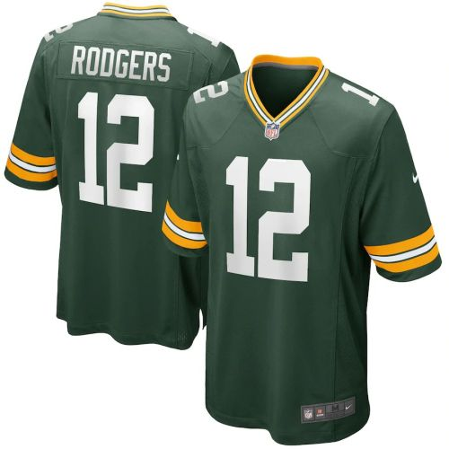 Men's Aaron Rodgers Green Player Limited Team Jersey