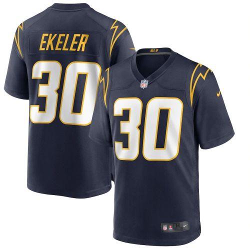 Men's Austin Ekeler Navy Alternate Player Limited Team Jersey
