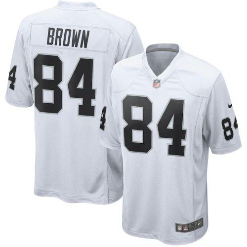 Men's Antonio Brown White Player Limited Team Jersey