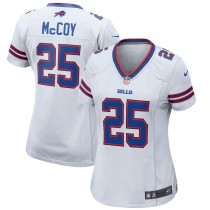Women's LeSean McCoy White Player Limited Team Jersey