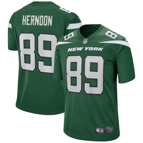 Men's Chris Herndon Gotham Green Player Limited Team Jersey