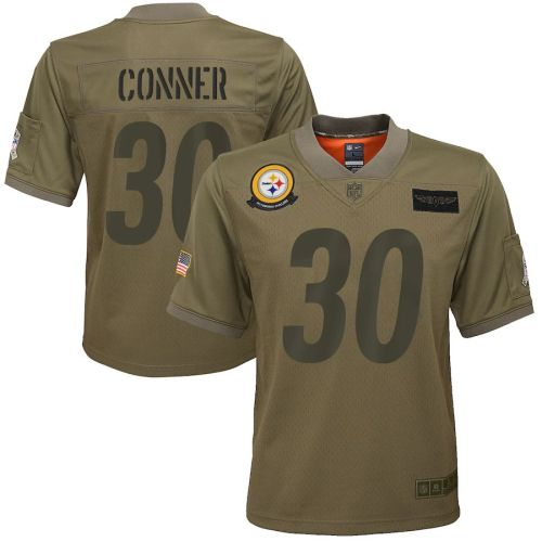 Men's James Conner Olive 2019 Salute to Service Player Limited Team Jersey