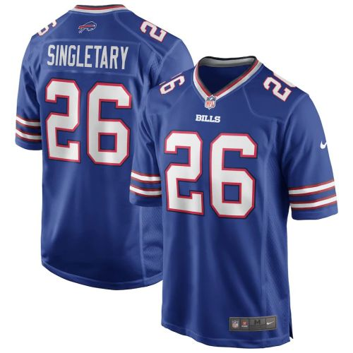 Men's Devin Singletary Royal Player Limited Team Jersey
