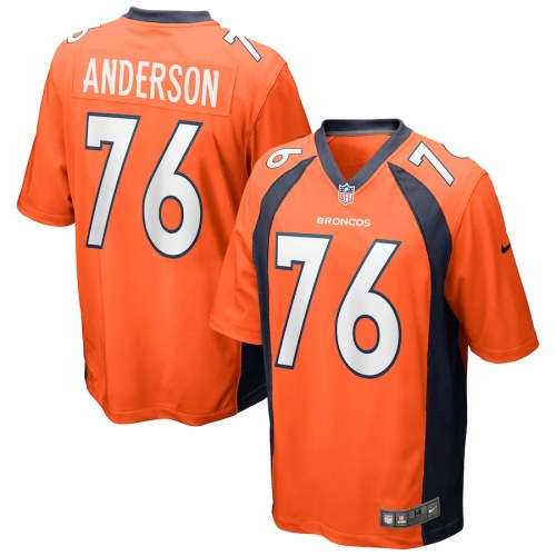 Men's Calvin Anderson Orange Player Limited Team Jersey