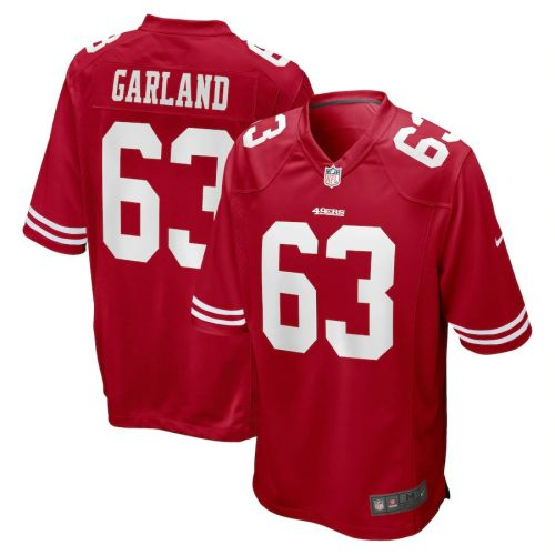 Men's Ben Garland Scarlet Player Limited Team Jersey