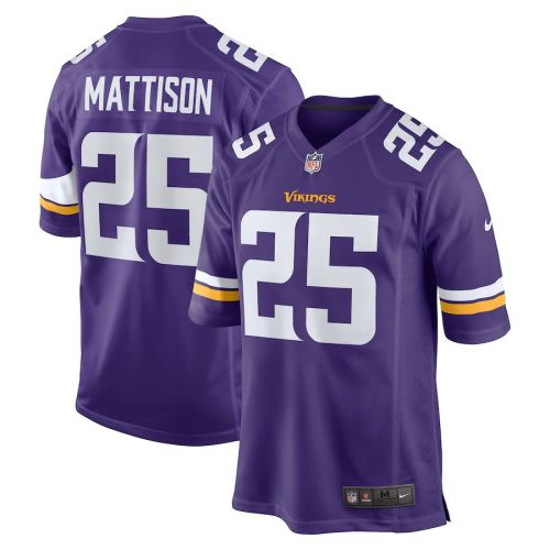 Men's Alexander Mattison Purple Player Limited Team Jersey
