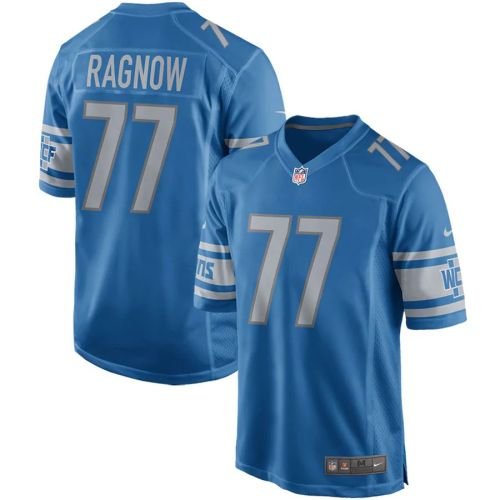 Men's Frank Ragnow Blue Player Limited Team Jersey