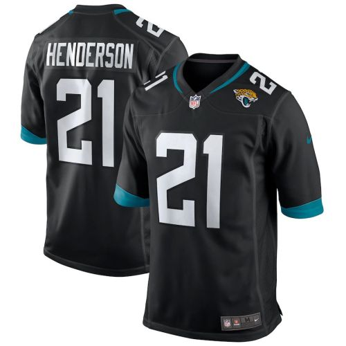 Men's C.J. Henderson Black 2020 Draft First Round Pick Player Limited Team Jersey
