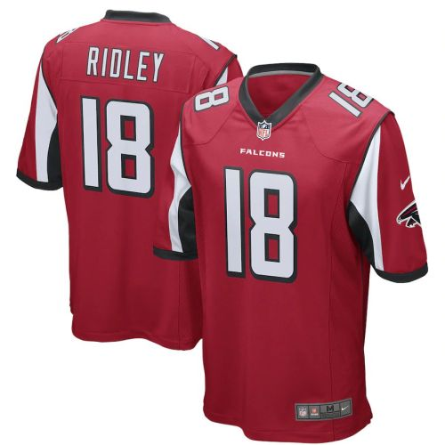 Men's Calvin Ridley Red Player Limited Team Jersey