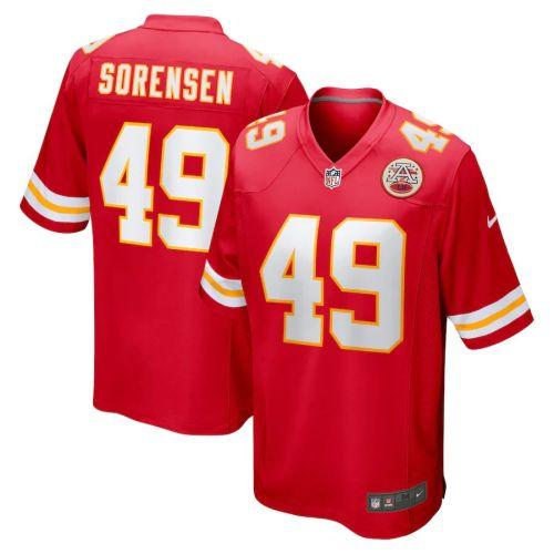 Men's Daniel Sorensen Red Player Limited Team Jersey