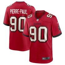 Men's Jason Pierre-Paul Red Player Limited Team Jersey